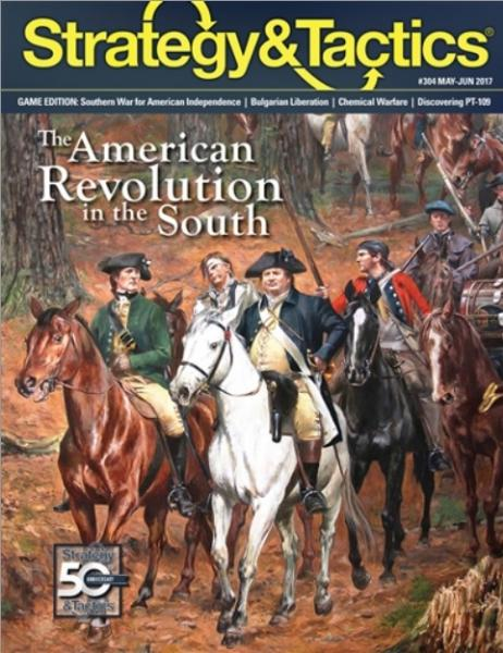 Strategy & Tactics Magazine #304: The American Revolution in the South