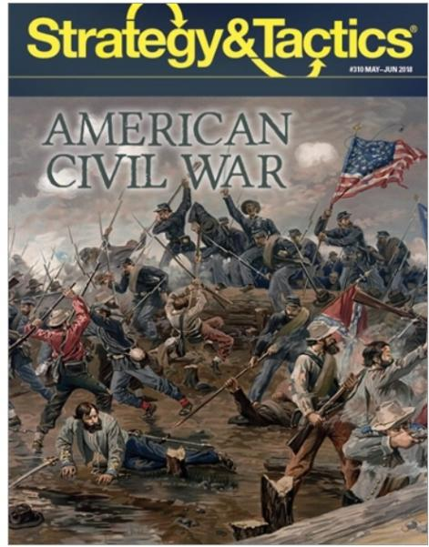Strategy & Tactics Magazine #310: The American Civil War