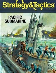 Strategy & Tactics Magazine #311: Pacific Submarine