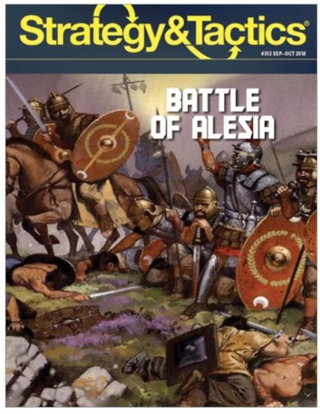 Strategy & Tactics Magazine #312: Battle of Alesia