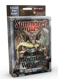Summoner Wars: Mountain Vargath Second Summoner Faction Deck [SALE]