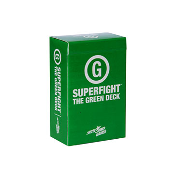 Superfight: The Green Deck (Family) [Damaged]