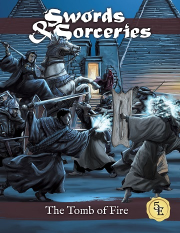 Swords & Sorceries- The Tomb Of Fire (5E)