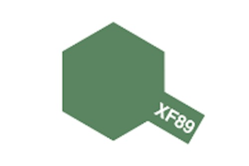 Tamiya Acrylic Flat Paint 10ml: XF-89 Dark Green 2