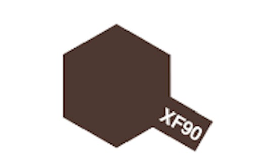Tamiya Acrylic Flat Paint 10ml: XF-90 Red Brown 2