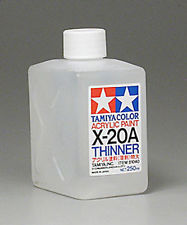 Tamiya Acrylic Paint 250ml: X-20AEL Thinner