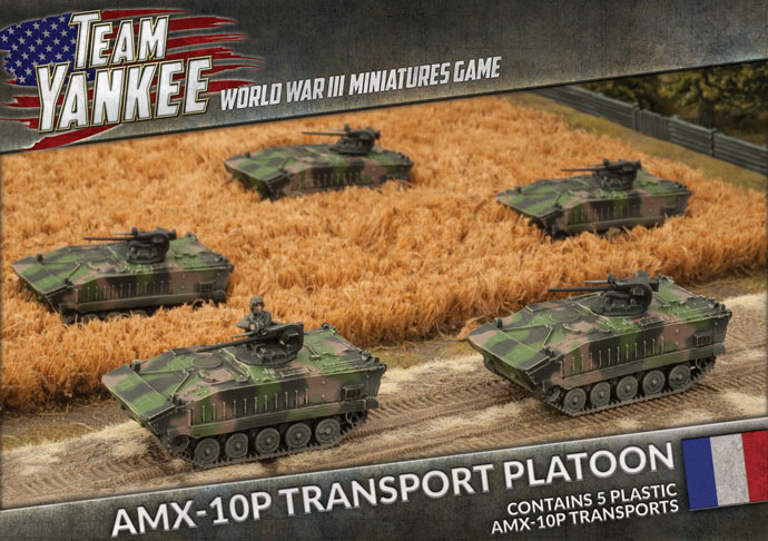 Team Yankee: French: AMX-10P Transport Platoon