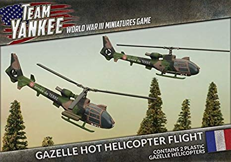 Team Yankee: French: Gazelle HOT Helicopter Flight