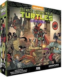 Teenage Mutant Ninja Turtles: Change Is Constant- City Fall