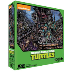 Teenage Mutant Ninja Turtles Universe Premium Puzzle 1000PC [Damaged]