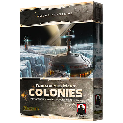 Terraforming Mars: The Colonies [Damaged]