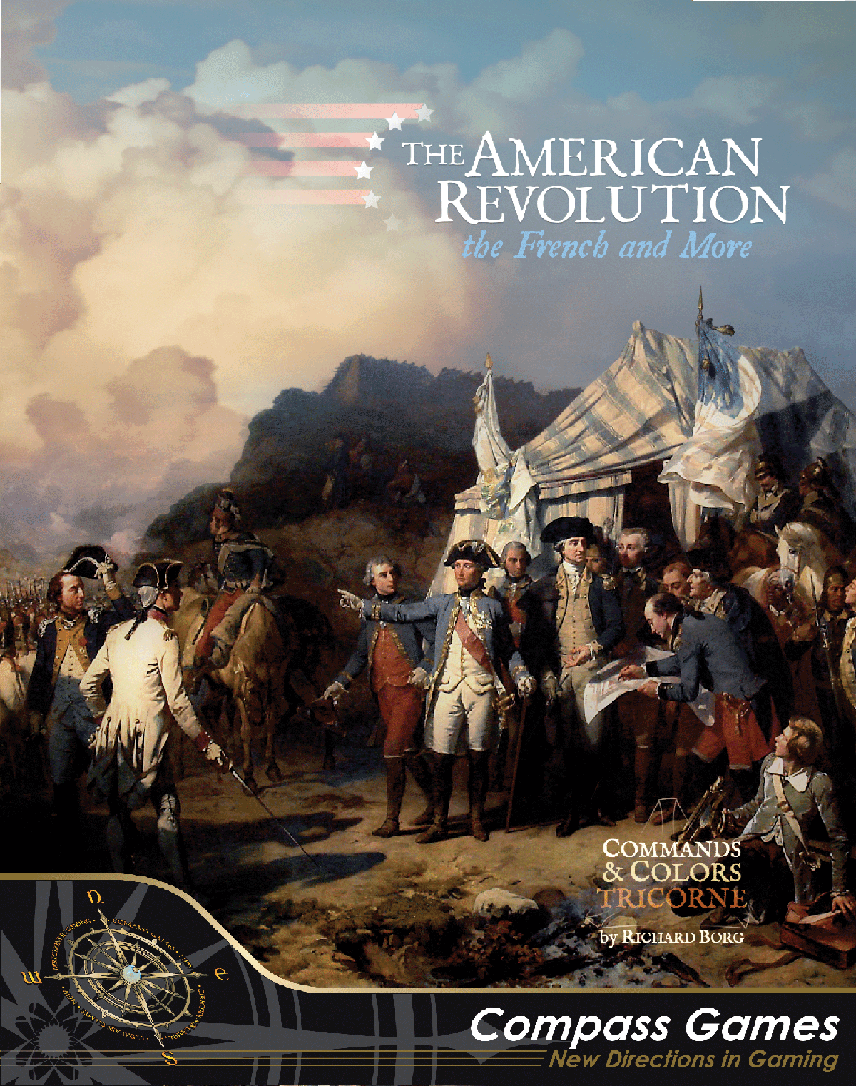 The American Revolution: Commands & Colors (Tricorne)- The French and More