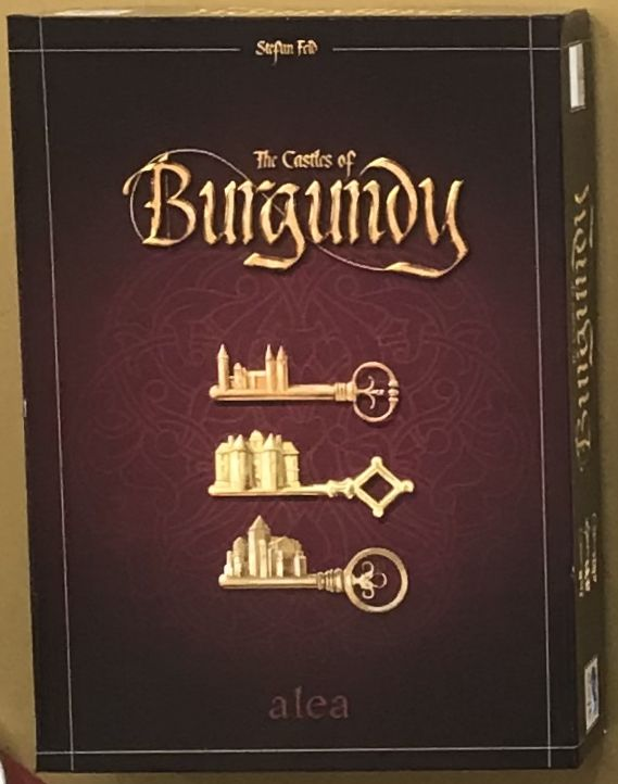 The Castles of Burgundy (2019 New Box)