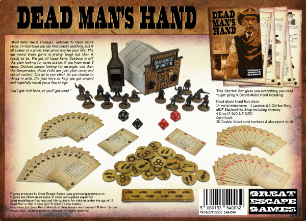 The Curse of Dead Mans Hand: Limited Edition Starter Set