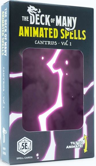 The Deck Of Many Animated Spells: Cantrips