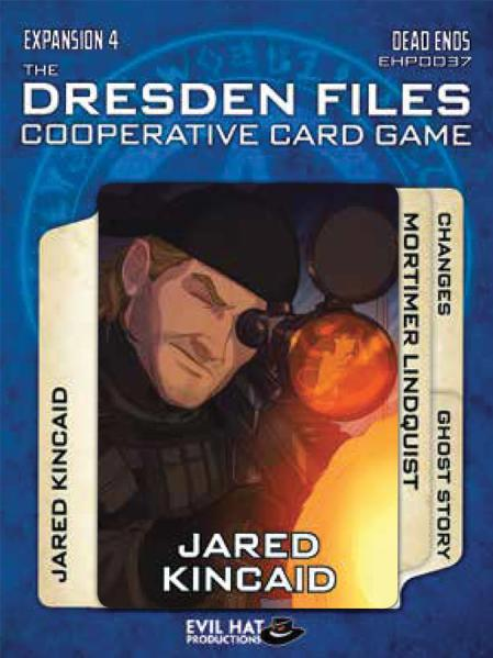 The Dresden Files Cooperative Card Game: Expansion 4- Dead Ends