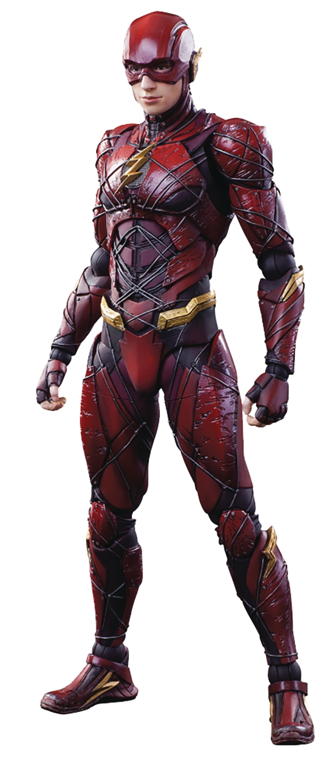 The Flash- Justice League Variant (Play Arts Kai Action Figure)
