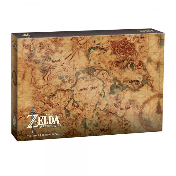 Zelda Breath Of The Wild: Hyrule Map Puzzle