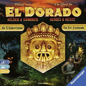 The Quest for El Dorado - Heroes & Hexes (1st Expansion) [Damaged]
