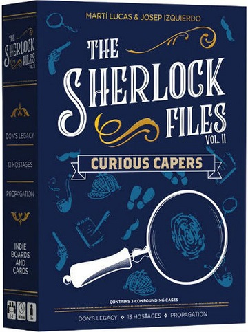 The Sherlock Files: Curious Capers [Damaged]