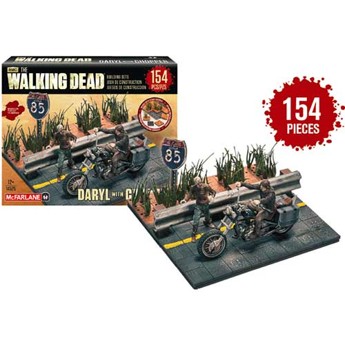 The Walking Dead Construction Set: Daryl with Chopper