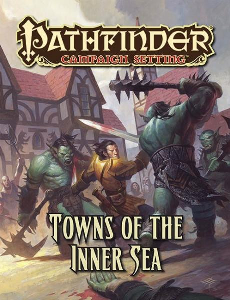 Pathfinder: Campaign Setting: Towns of the Inner Sea [SALE]