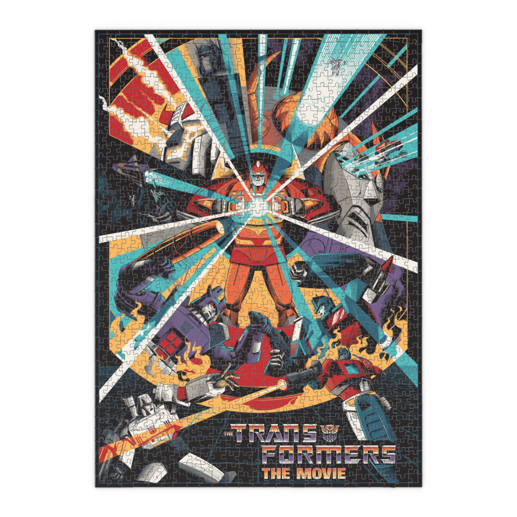 Transformers: The Movie (1000 Piece Puzzle)