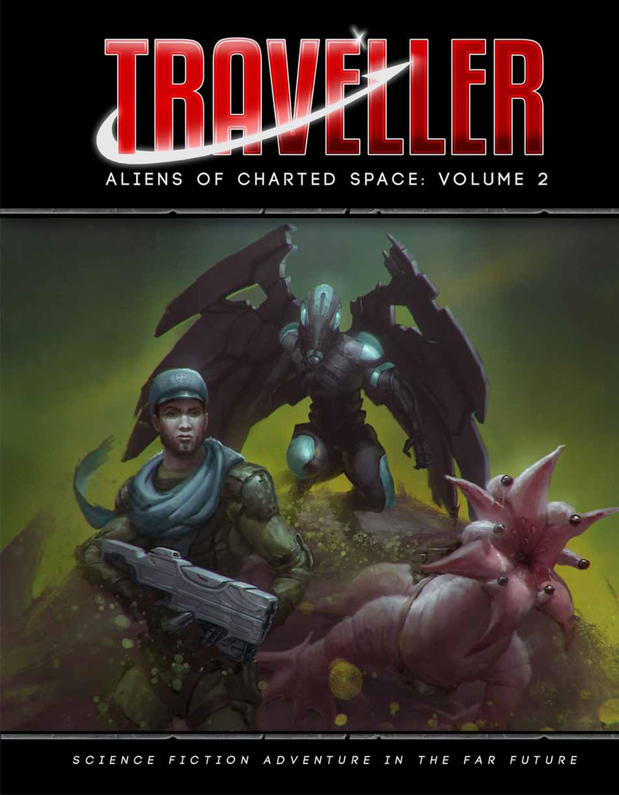 Traveller: ALIENS OF CHARTED SPACE- VOL 02