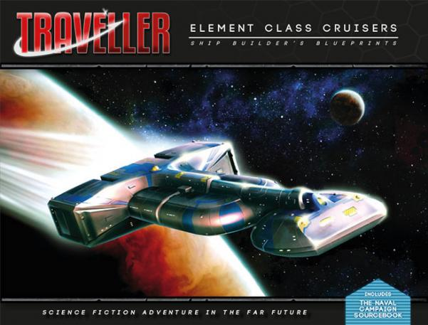 Traveller: Elemental Class Cruisers - Ship Builders Blueprints