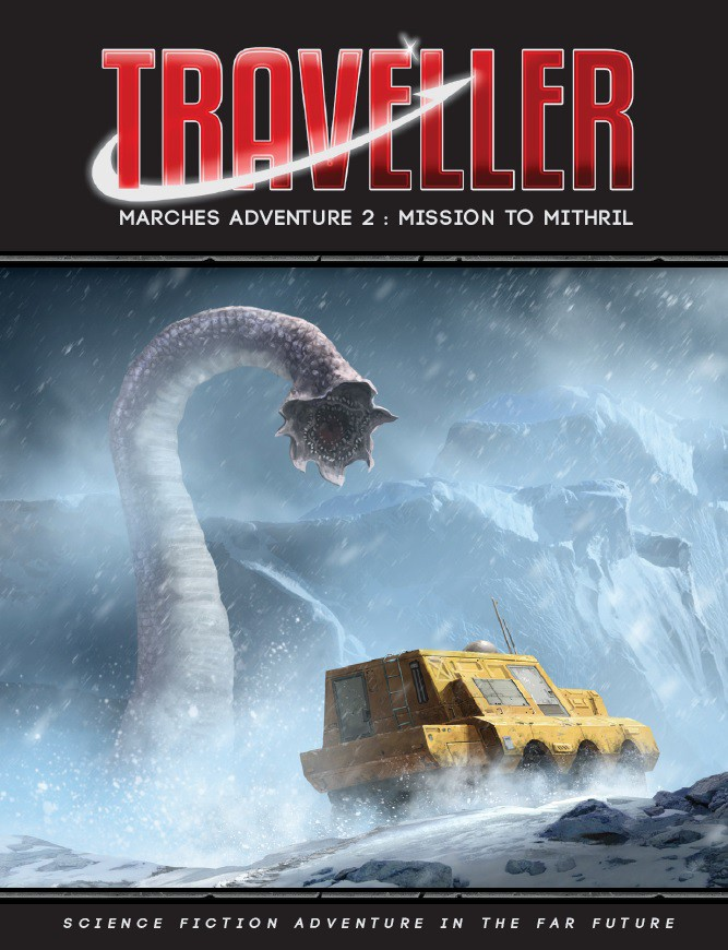 Traveller: Marches Adventure 2- Mission To Mithril