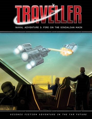 Traveller: Naval Adventure 3- Fire On The Sindalian Main