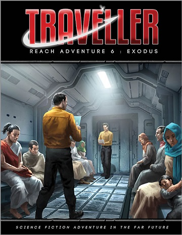 Traveller: Reach Adventure 6- Exodus