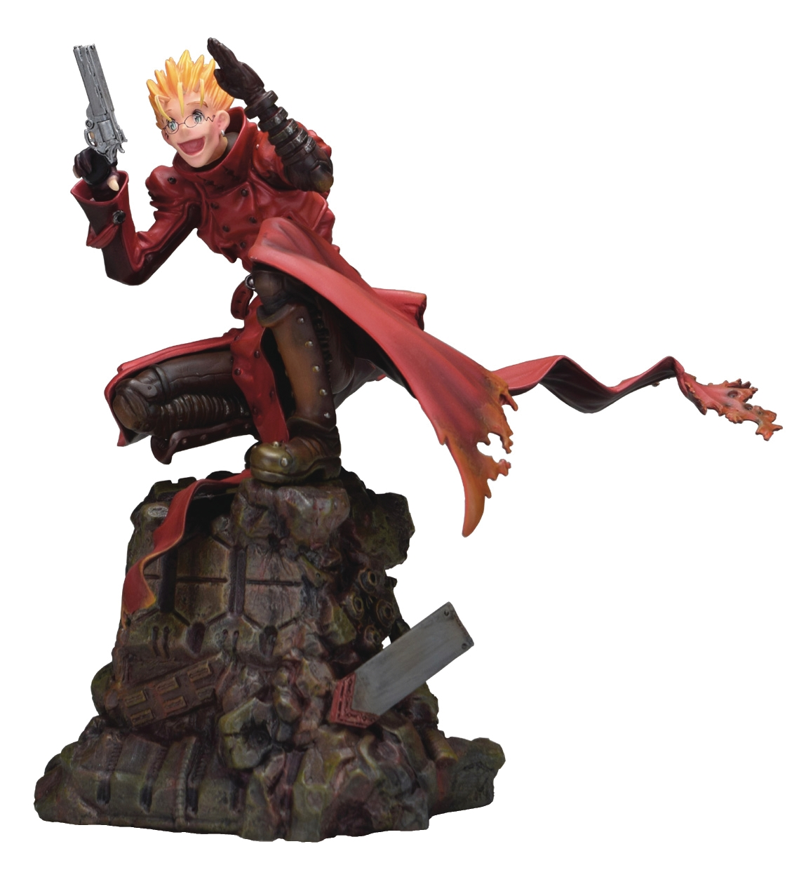 Trigun Badlands Rumble: Vash (1/6 Scale Polystone Figure)