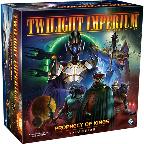 Twilight Imperium 4th Edition: Prophecy Of Kings [DAMAGED]