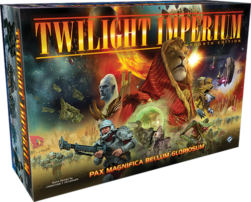 Twilight Imperium 4th Edition [DAMAGED]