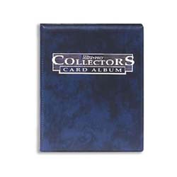 Ultra Pro: 4-Pocket Collectors Card Album: Blue