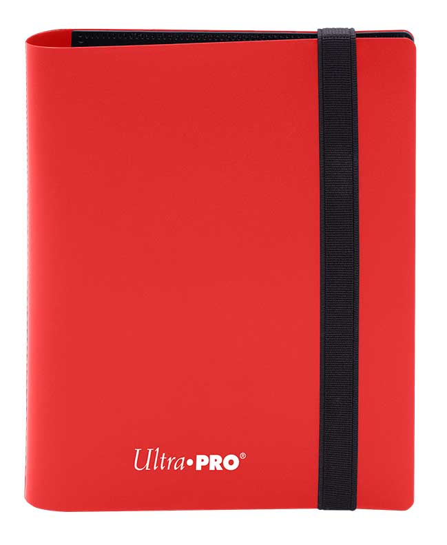 Ultra Pro: 4-Pocket Pro-Binder Eclipse: Apple Red