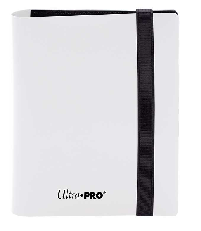 Ultra Pro: 4-Pocket Pro-Binder Eclipse: Arctic White