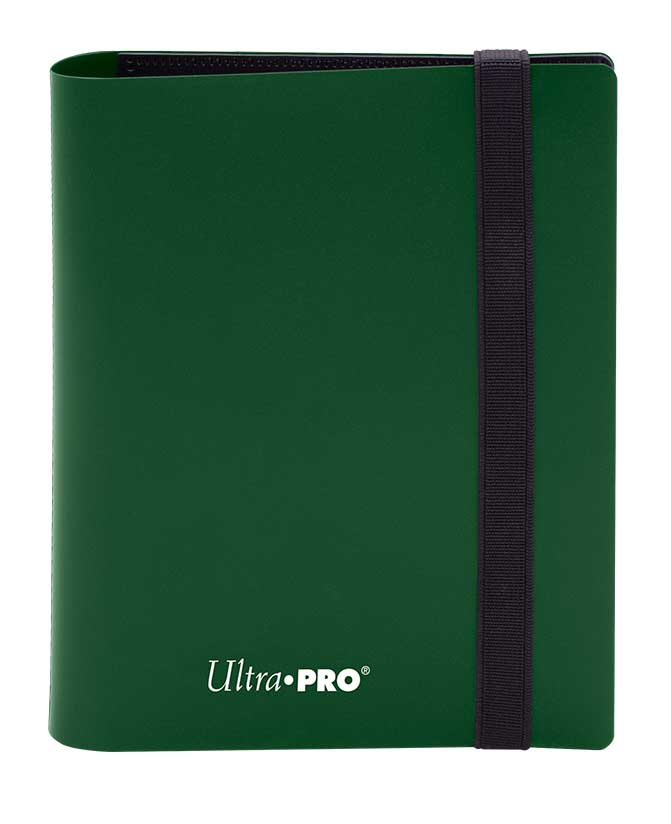 Ultra Pro: 4-Pocket Pro-Binder Eclipse: Forest Green