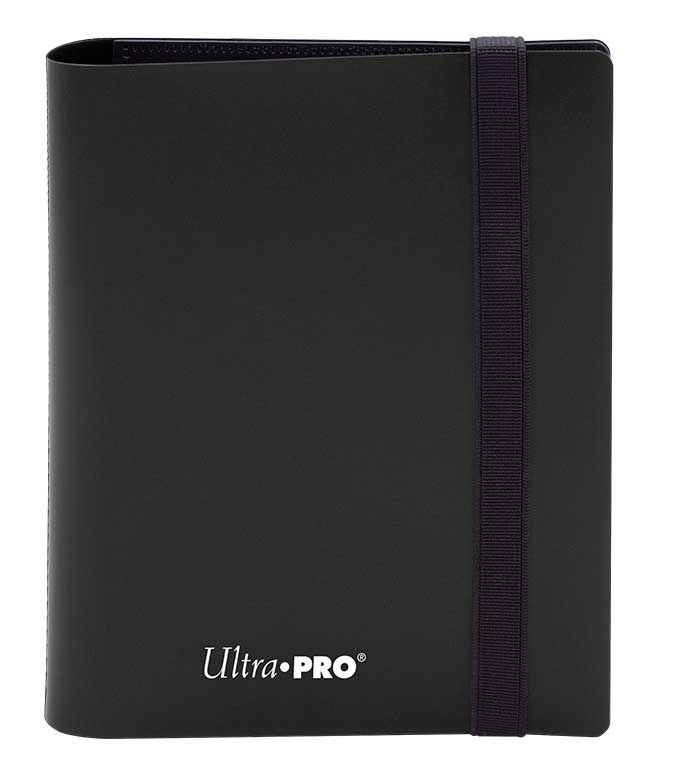 Ultra Pro: 4-Pocket Pro-Binder Eclipse: Jet Black