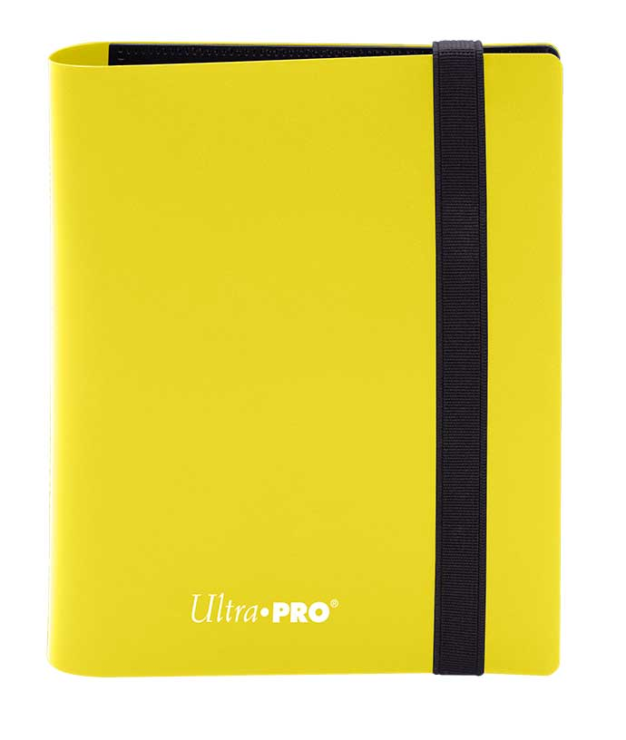 Ultra Pro: 4-Pocket Pro-Binder Eclipse: Lemon Yellow