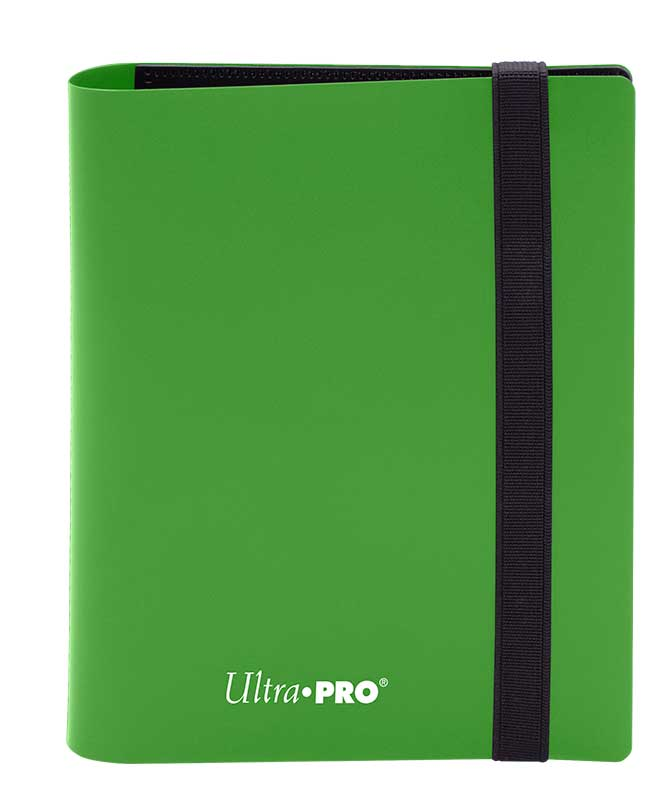 Ultra Pro: 4-Pocket Pro-Binder Eclipse: Lime Green