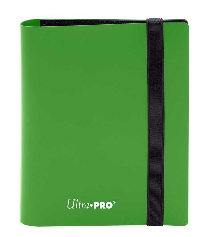 Ultra Pro: 4-Pocket Pro-Binder Eclipse: Lime