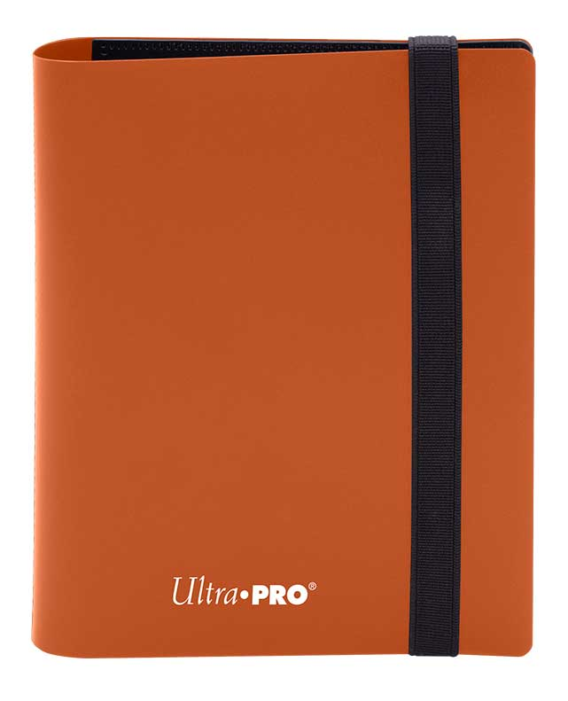 Ultra Pro: 4-Pocket Pro-Binder Eclipse: Pumpkin Orange