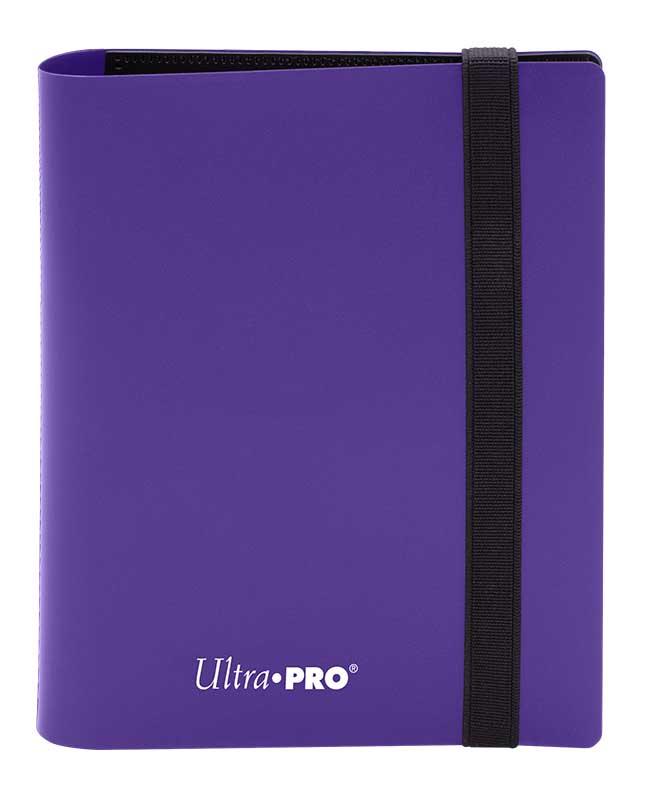 Ultra Pro: 4-Pocket Pro-Binder Eclipse: Royal Purple