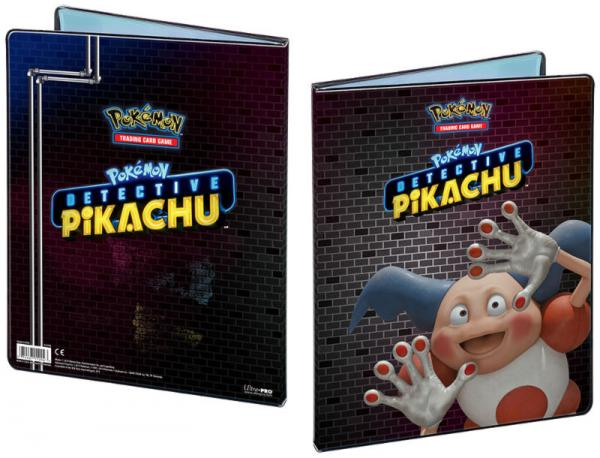 Ultra Pro: 9 Pocket Portfolio: Pokemon Detective Pikachu - Mr. Mime