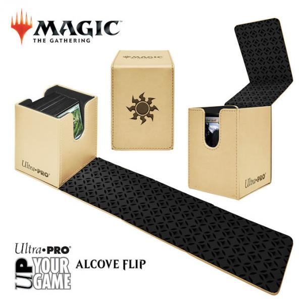 Ultra Pro Alcove Flip Box: Magic The Gathering- Plain (White)