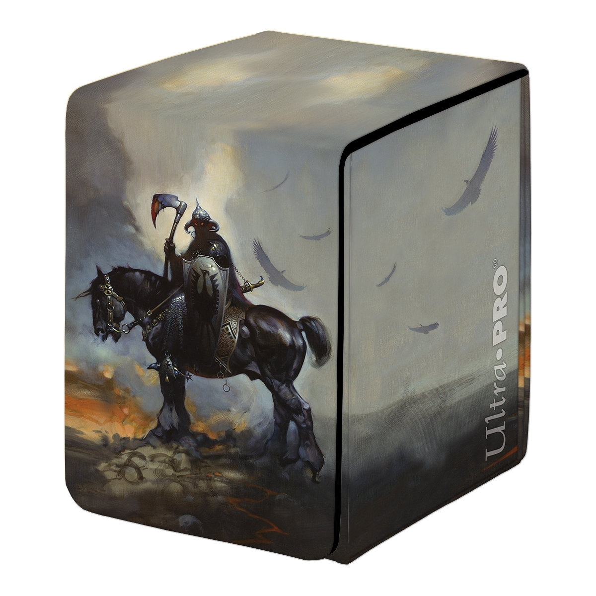 Ultra Pro: Alcove Flip Fine Art Deck Box- DEATH DEALER