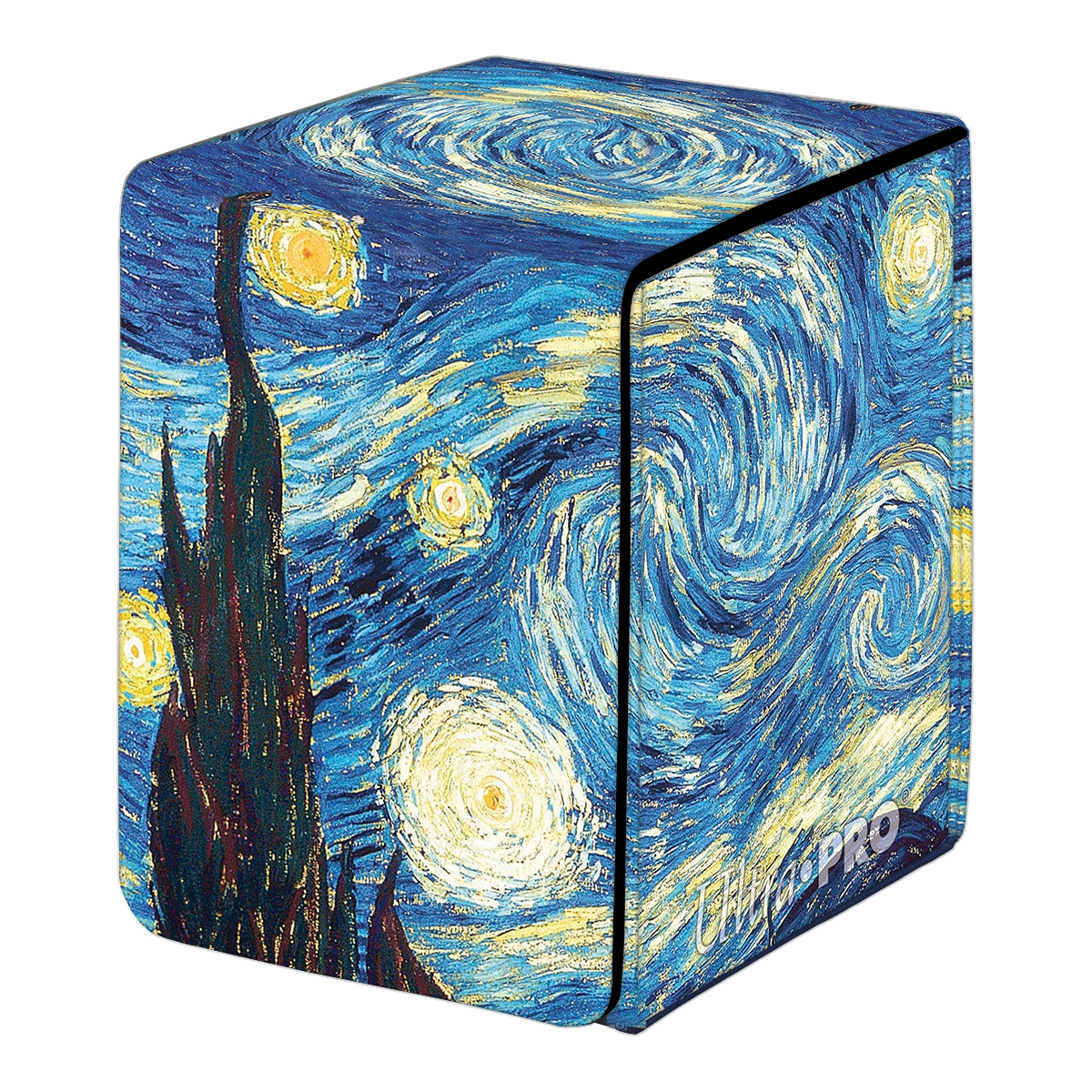 Ultra Pro: Alcove Flip Fine Art Deck Box- STARRY NIGHT