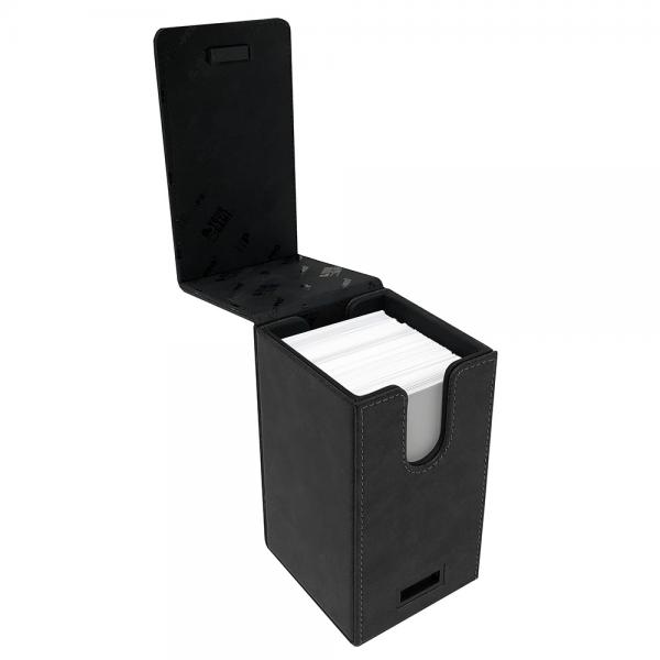 Ultra Pro: Alcove Tower Deck Box- Suede Black